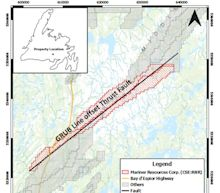 Mariner Signs Option Agreement to Purchase 100% Interest in the Middle South Gold Property in Central Newfoundland, and Appoints Fred Tejada to the Board