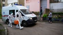 Russia reports 181 new coronavirus deaths, down from Friday's record high
