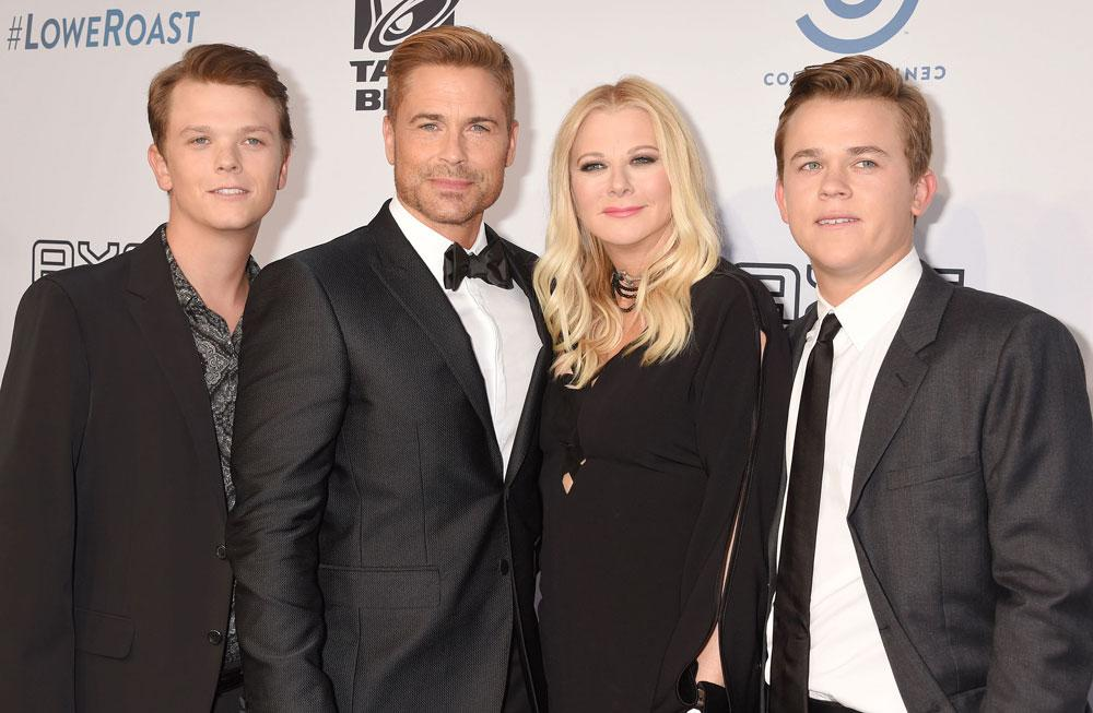 rob lowe and sons set for a e network reality series the. Black Bedroom Furniture Sets. Home Design Ideas