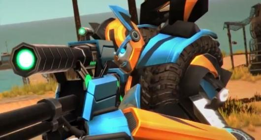 Transformers Universe shows off Catapult and Shellshock