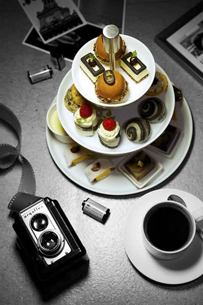 黑白下午茶 (圖/The Chapter Café)