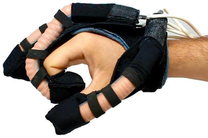 Prototype roboglove gives patients with weak grips a hand