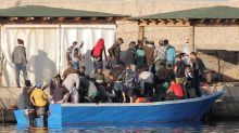 New wave of boat migrants overwhelms southern Italian island