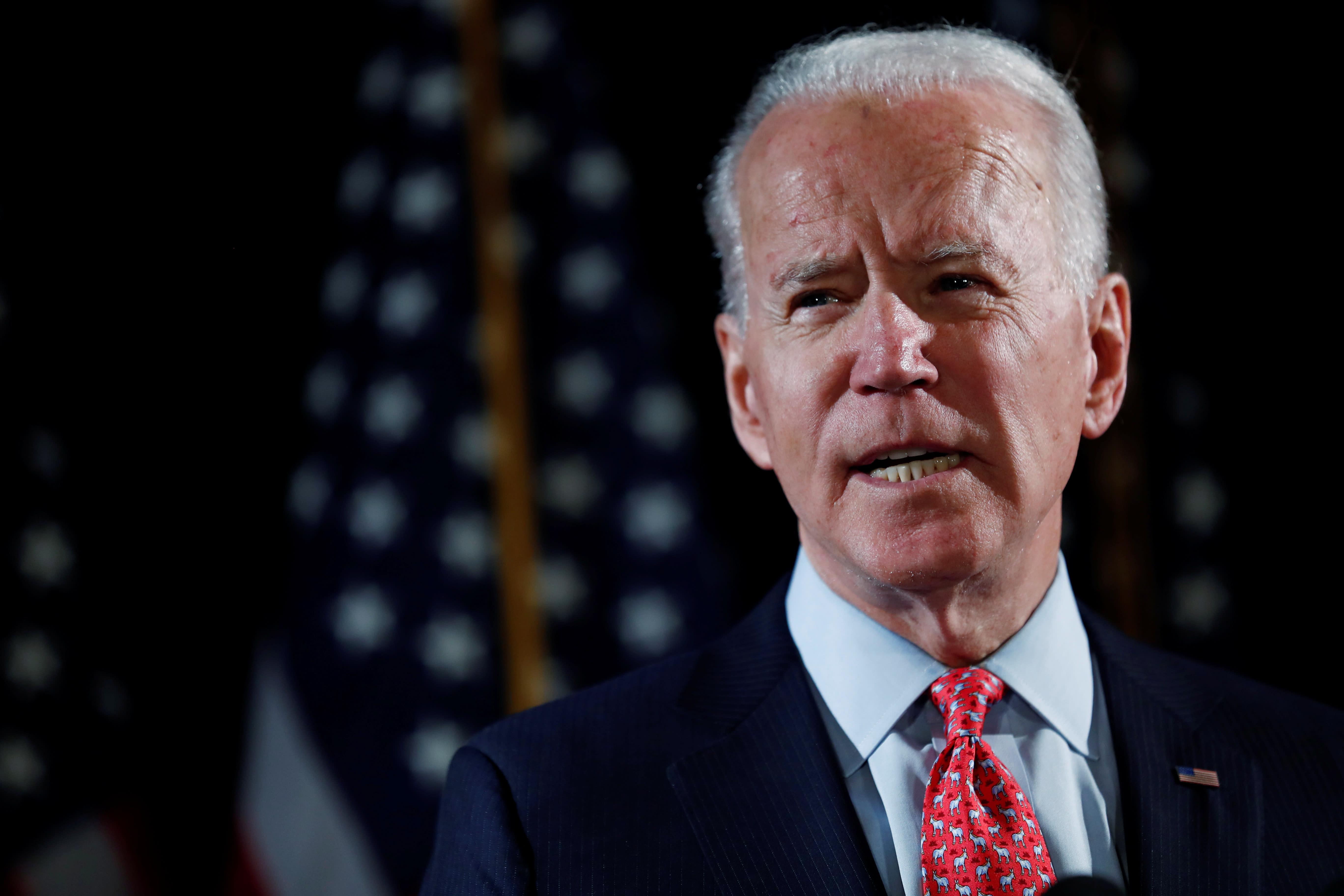 Biden and other Democrats blast Trump's health care rejection amid coronavirus