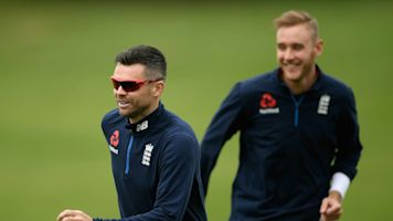 Stuart Broad and James Anderson winning fitness races for first England vs India Test match
