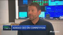 Adidas CEO on business in North America, tariffs and Kany...