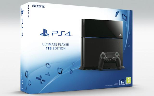 Sony's 1TB PS4 priced at £350 in the UK