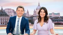'Be careful!' Ben Shephard reprimands Al Murray as he swears on air