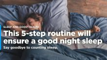 Want a better night's sleep? This 5-step plan will help you