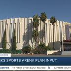 City seeks sports arena plan input