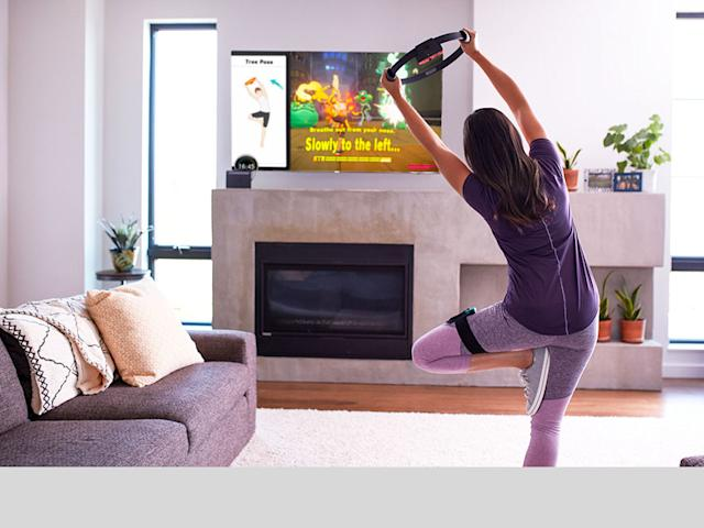 Nintendo's 'Ring Fit Adventure' hides grown-up workouts in a kids' game