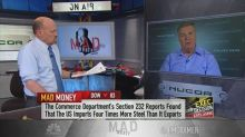 Nucor CEO: It would be 'disappointing' if Trump doesn't f...