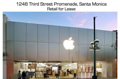 Who moves into abandoned Apple Stores?