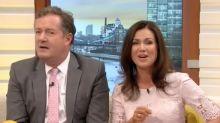 GMB fans fuming as Piers Morgan calls himself 'black' in 'non binary' rant at Joan Collins