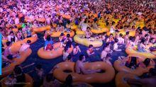 Como Wuhan foi de ruas desertas a rave?