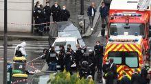"""Messerangriff bei früherem """"Charlie-Hebdo""""-Sitz entsetzt Paris"""