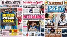La Rassegna Stampa dei principali quotidiani sportivi italiani di domenica 27 settembre 2020