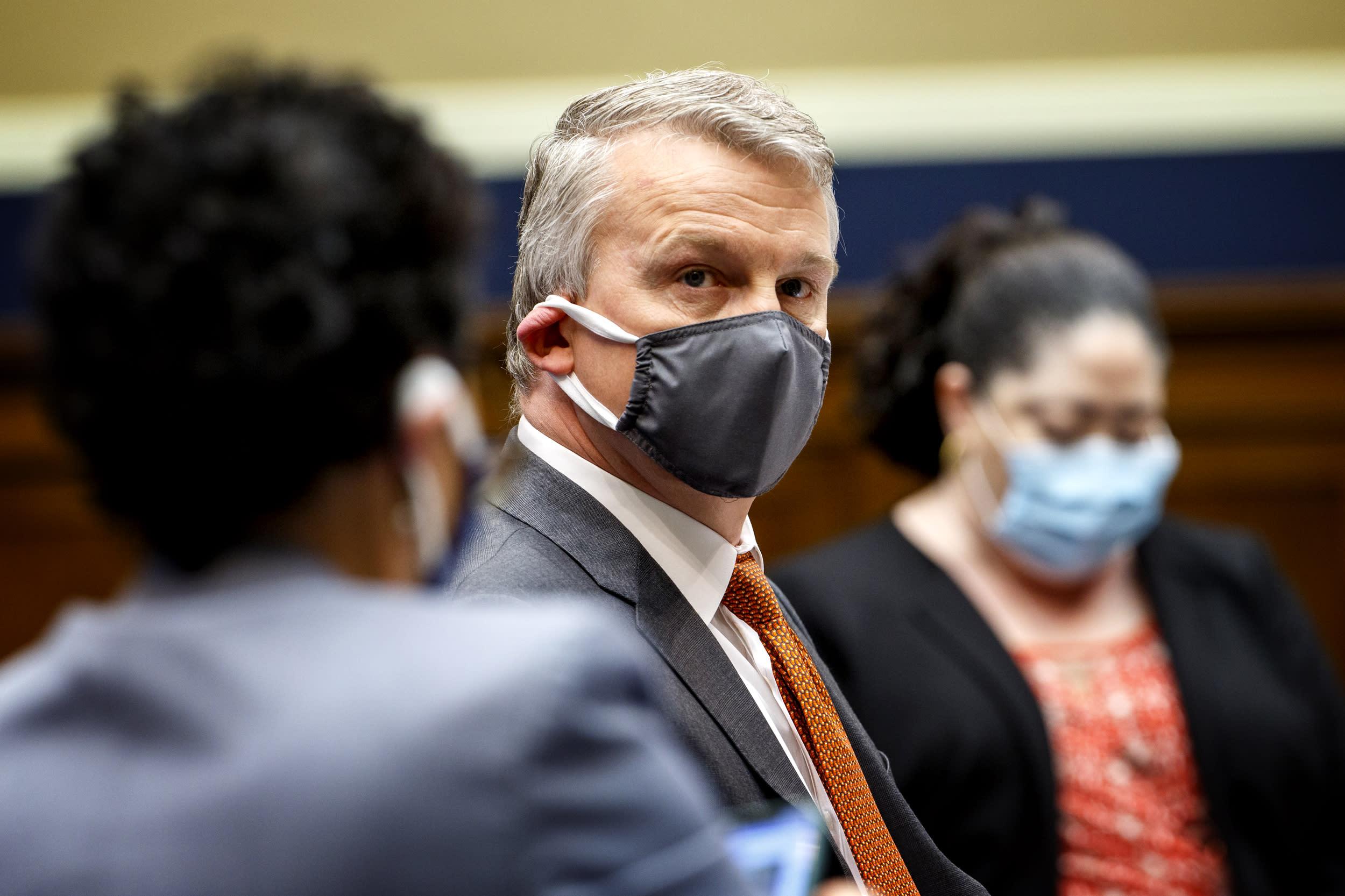 Whistleblower Rick Bright says Trump admin's virus approach is 'dangerous'