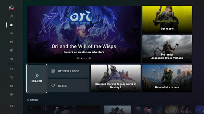 Microsoft Store for Xbox