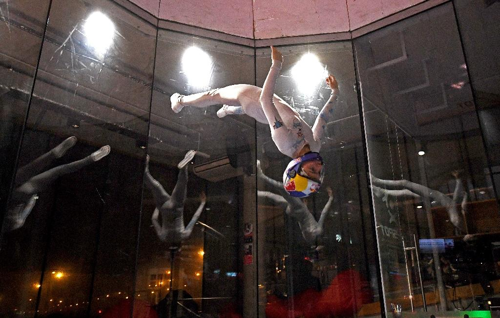 Young pioneers push envelope on freestyle indoor skydiving