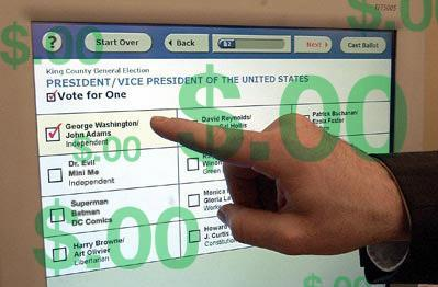 Diebold says e-voting sales have failed