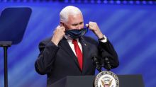 As Texas coronavirus cases surge, Pence attends megachurch service