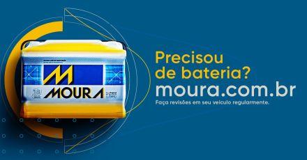 Baterias Moura. Energia para mover o futuro.