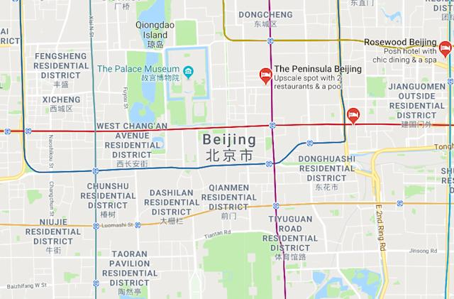 Google denies launching optimized version of Maps for China