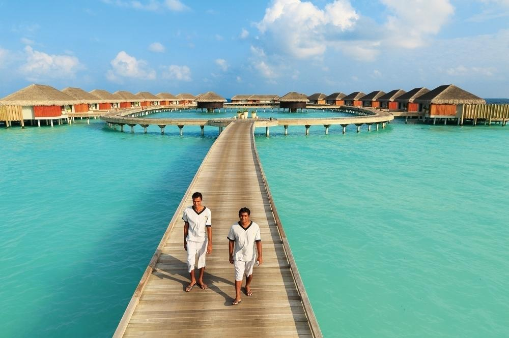 """Hidden away within a collection of islands known as the Noonu Atoll at the most northern point of the Maldives, <a href=""""http://www.velaaprivateisland.com/"""" target=""""_blank"""">Velaa Private Island</a> is possibly the most private island in the Indian Ocean. The only resort in the Maldives that has a strict no drone rule, in-room dining direct to the ocean, a ratio of 1:8 guests to staff and dedicated butlers, it is privacy personified. Check in to the Romantic Residence, where you will find your own spa treatment room, gym, over-water infinity pool and beach with its own palm tree, as well as your devoted butler catering to your every want, while leaving you within the bliss of ultimate privacy. Prices for the Romantic Residence start from US$8,000 per night."""