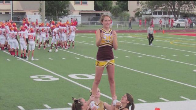New uniform policy affects Countryside High cheerleaders' uniforms