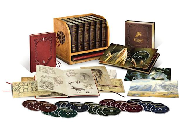 Middle-earth Blu-ray set is gorgeous, but insanely expensive