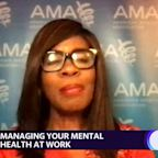 Dr. Patrice Harris the President of the American Medical Association joins Yahoo's Reset Your Mindset at Work special
