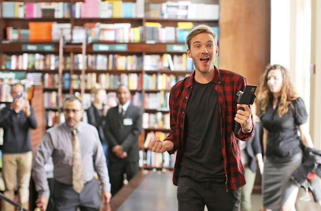 YouTube cancels Pewdiepie's original series after anti-Semitic jokes