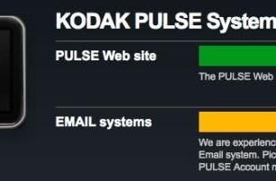 Kodak Pulse email-to-photo-frame system down for days, millions of memories trapped in the cloud (updated)