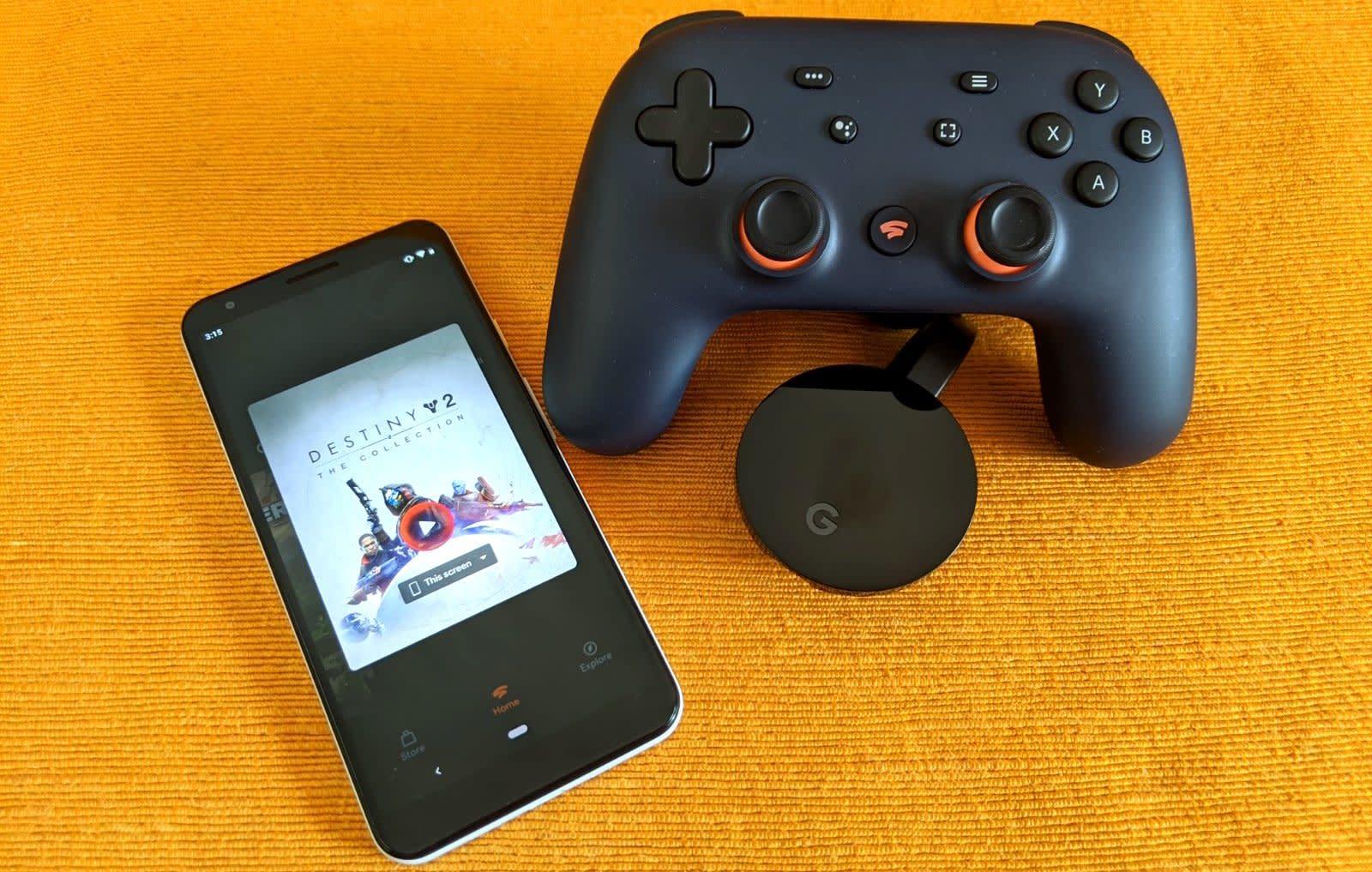 Google Stadia accessories