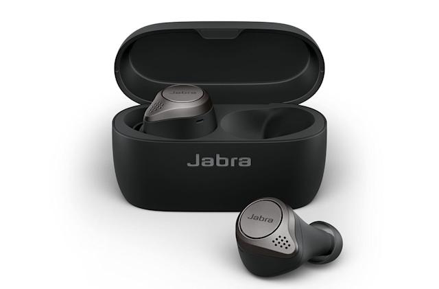 Jabra's Elite 75t true wireless earbuds are available now for $180