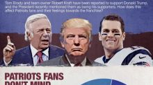 Patriots' association with Donald Trump doesn't concern most New England fans