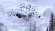 Alaskan man rescued weeks after cabin burned down thanks to SOS sign in snow