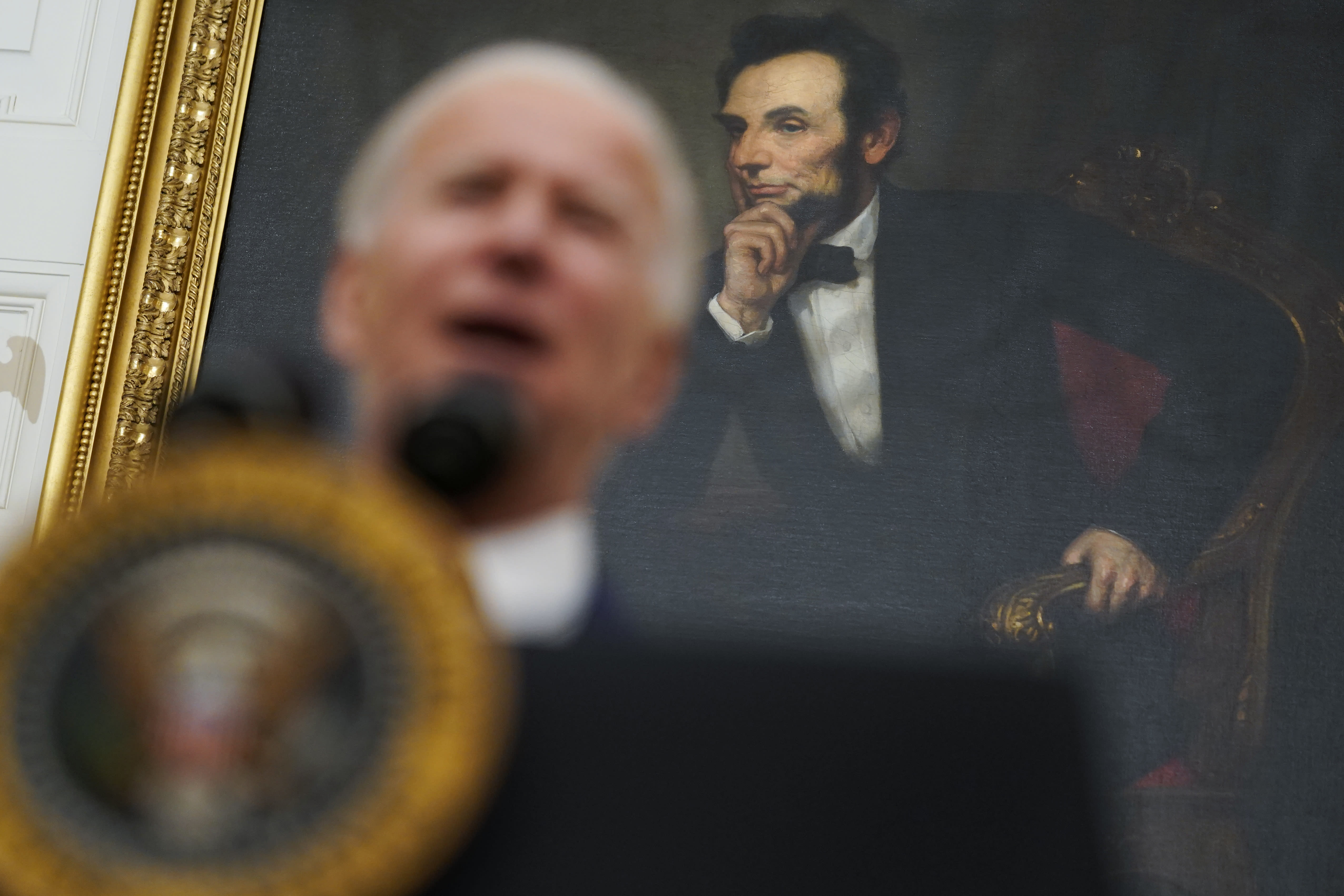 Biden's early approach to virus: Underpromise, overdeliver