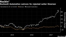 Emerson Sweetens Rockwell Automation Offer to $29 Billion