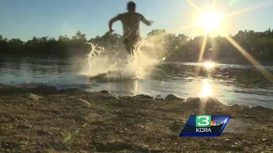Water flows increased on the American River