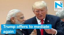 Will talk to Modi at G-7 Summit on Kashmir,  proposes mediation again