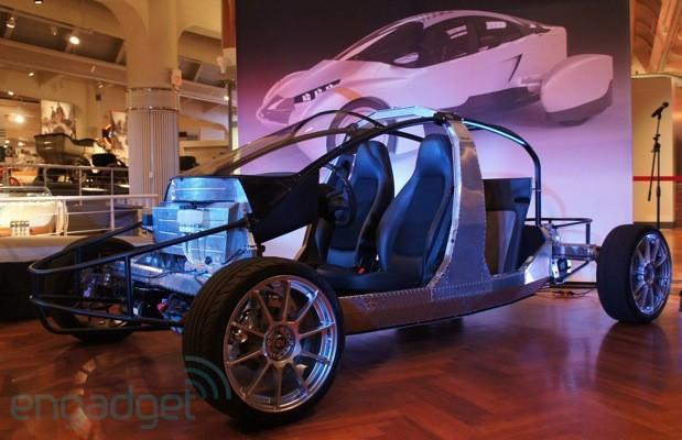 Edison2 shows off an updated Very Light Car EV by exposing its unique frame (hands-on)