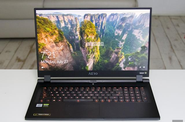 Gigabyte Aero 17 HDR review: A big, bright content creation machine