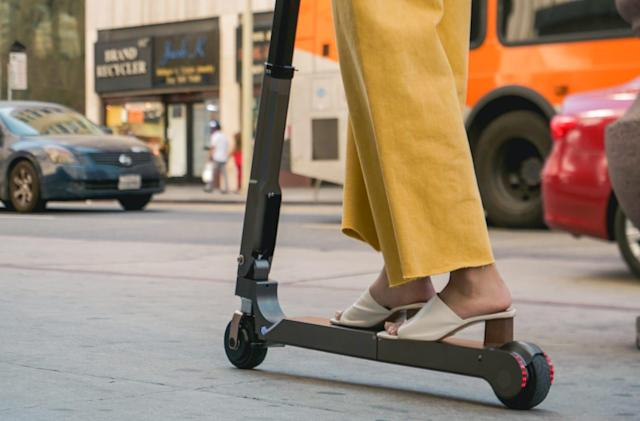 Hyundai's electric scooter prototype is built for 'last mile' rides