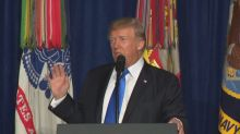 Donald Trump lays out his plan for the war in Afghanistan
