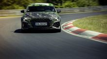 Watch as 2022 Audi RS 3 is crowned compact king of the Nurburgring