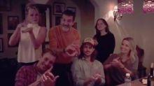 La familia Banderas-Griffith se reúne en Los Ángeles