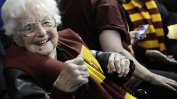 For Loyola's Sister Jean, pandemic is new territory