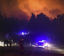 Wildfires burn out of control in Portugal and Spain